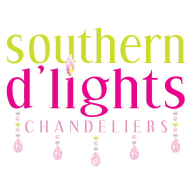 southern d'lights logo design