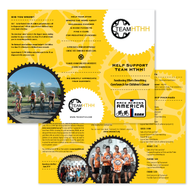 Pro Bono: Team HTHH Brochure Design