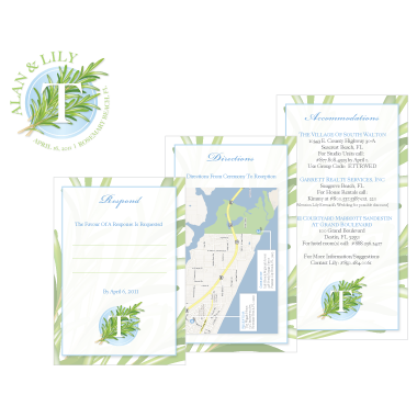 Tuesdell Wedding Elements Design