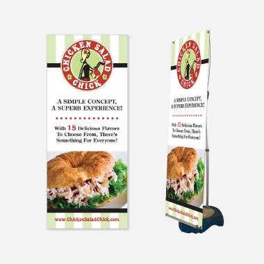 Chicken Salad Chick Display Design