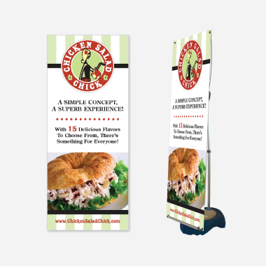 Chicken Salad Chick Display Design