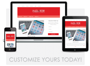 Launching initiator website packages