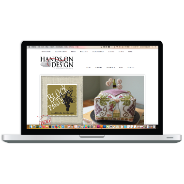 Hands On Design Ecommerce Website Design