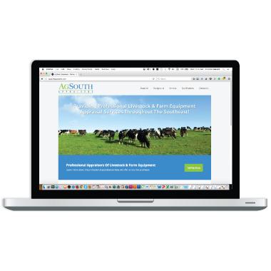 AgSouth Appraisers Website Design