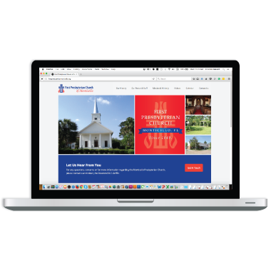 First Presbyterian Church of Monticello Website Design