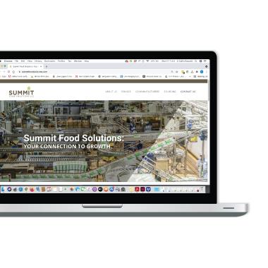 Summit Food Solutions Website Design