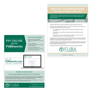fuba/fuba works flyer designs