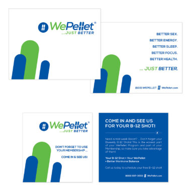 WePellet Thank You & Marketing Note Cards