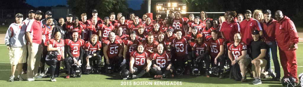 2015 Boston Renegades - Boston Women's Football
