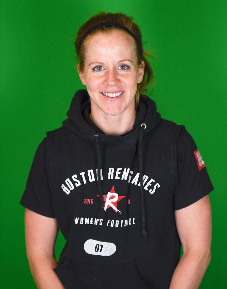 Boston Renegades Quarterback Allison Cahill