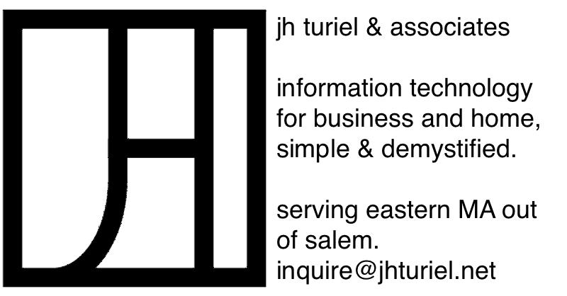 Boston Renegades Sponsor: JH Turiel & Associates