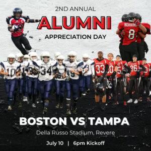 Second Annual Boston Women's Football Alumni Appreciation Day