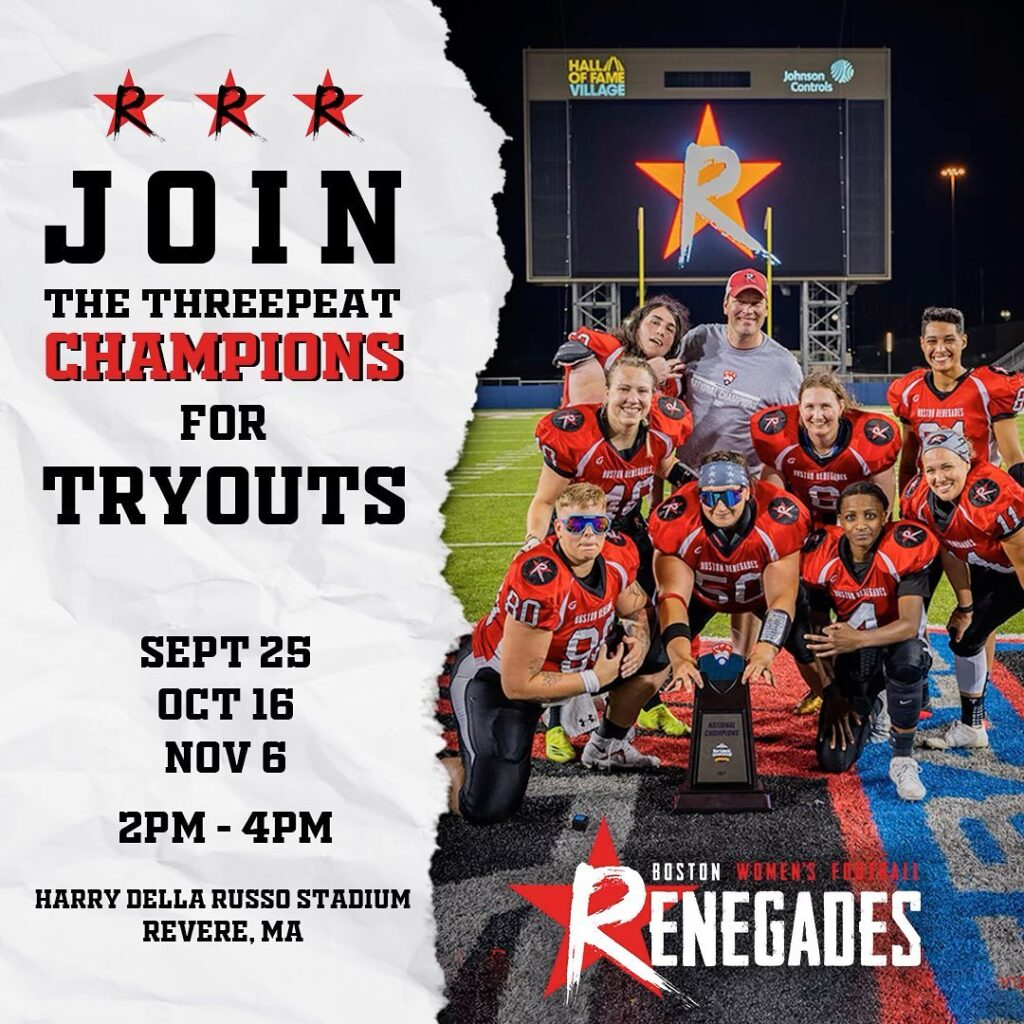 tryout for the Renegades