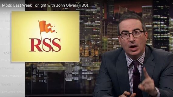 'Last week tonight' with John Oliver episode criticising Modi blocked by Hotstar