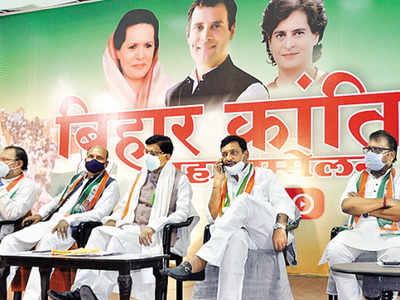 "Congress launches its Bihar Election Campaign with ""Bihar Kranti Mahasabha"""