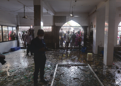Gas leak explosion in Bangladesh mosque kills 21, injures dozens