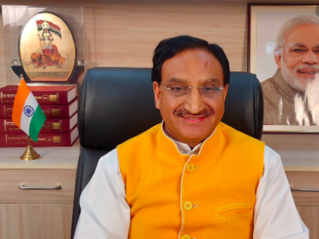 Education Minister Ramesh Pokhriyal attends virtual G20 meet, Speaks on NEP 2020