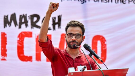 Former JNU Student Leader Umar Khalid Arrested by Delhi Police under UAPA