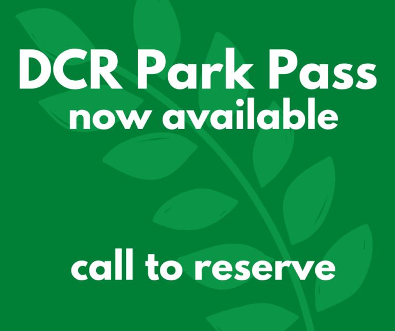 DCR Park Pass
