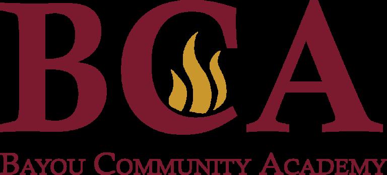 BCA LOGO Bayou Community Academy