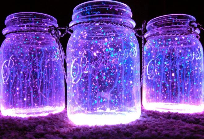 Como hacer envases luminosos