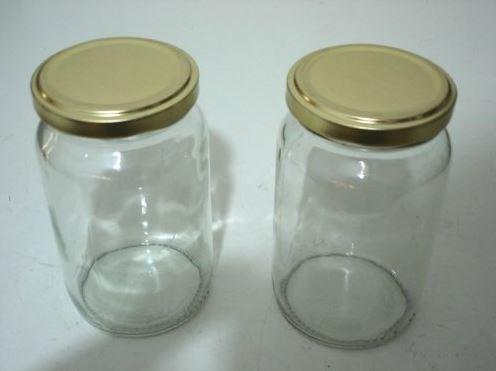 Envase de vidrio para truco de luces led