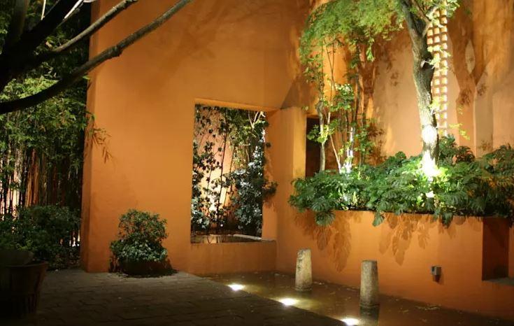 Pinta las paredes de tu jardin