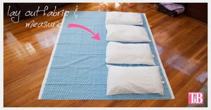 1. Escoger tela para colchon de almohadas