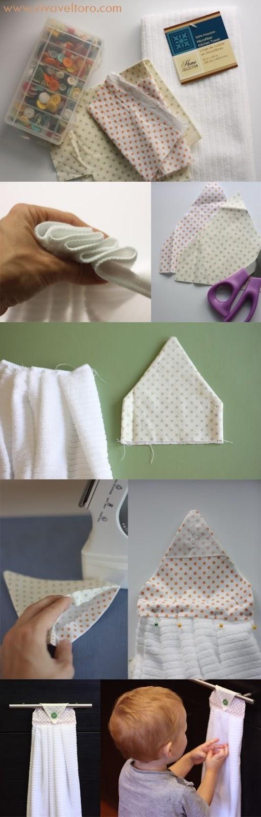 Adaptador de toallas para bebes