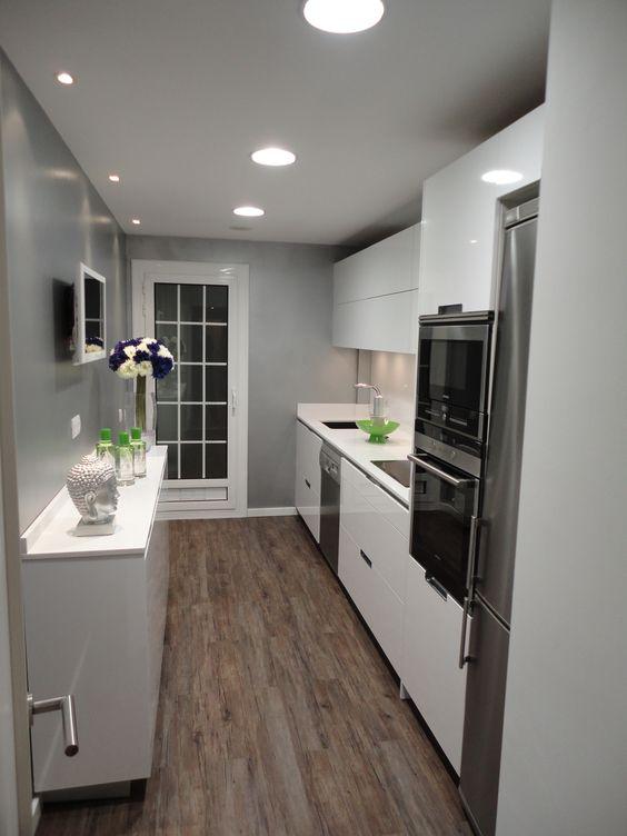 Cocinas muy bonitas color blanco