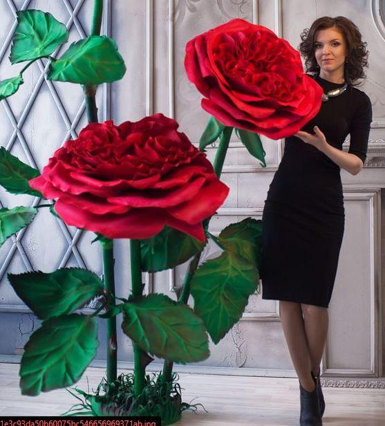 Como hacer una flor gigante de papel paso 11