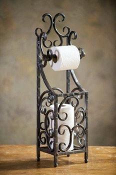 El papel higiénico también puede guardarse
