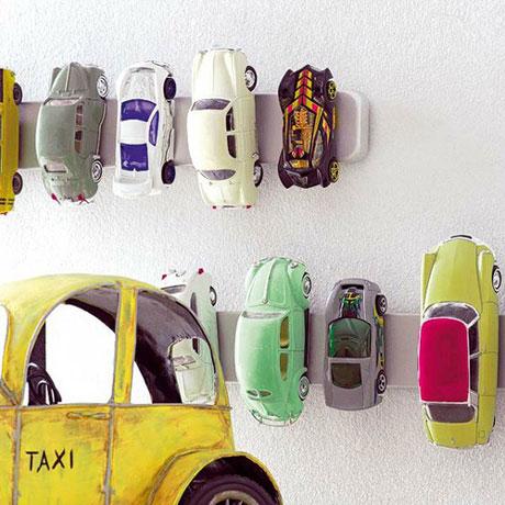 Los juguetes viejos como decoración