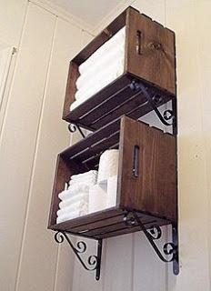 Para acomodar sabanas y toallas