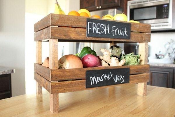 Un estante organizador para tu cocina