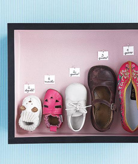 Zapatos como recuerdo familiar