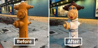 10 increíbles transformaciones de objetos callejeros a obras de arte