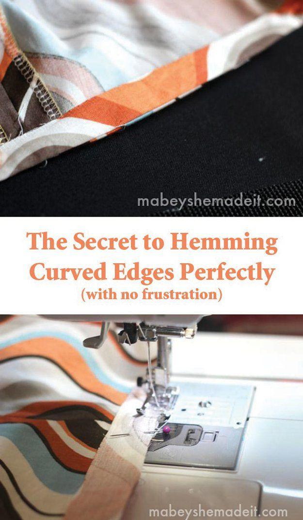 Alfileres para coser el doblez de la tela