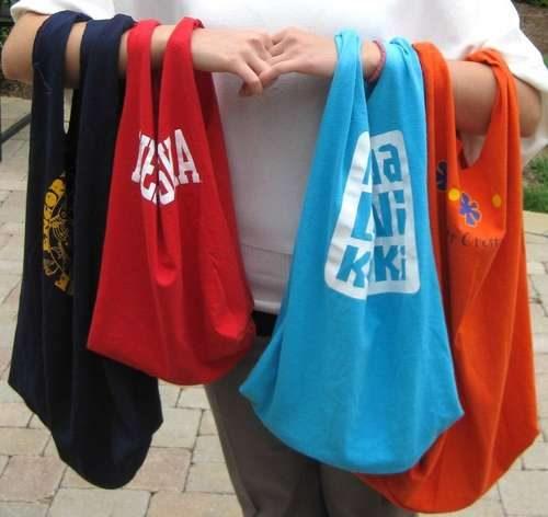 Bolsas para las compras en el super