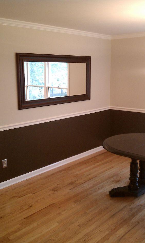 Crea un contraste de colores en tus paredes