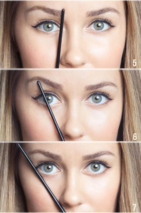 Presta atención al arco de tu ceja