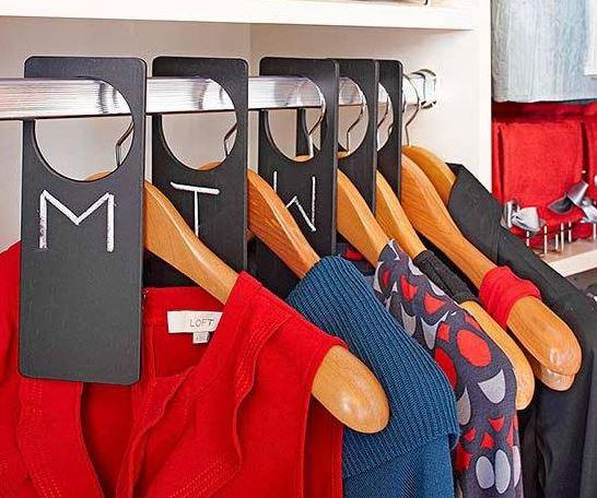 Separadores de ropa