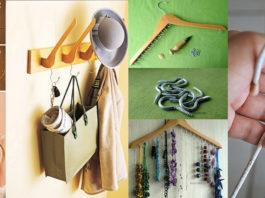 Ideas útiles para el hogar utilizando ganchos para la ropa