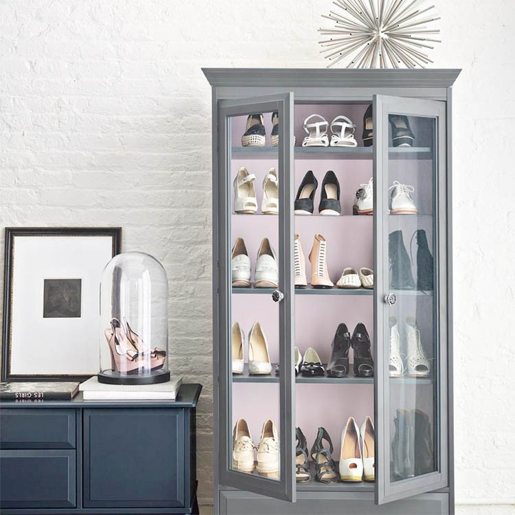 Vitrinas para tus zapatos
