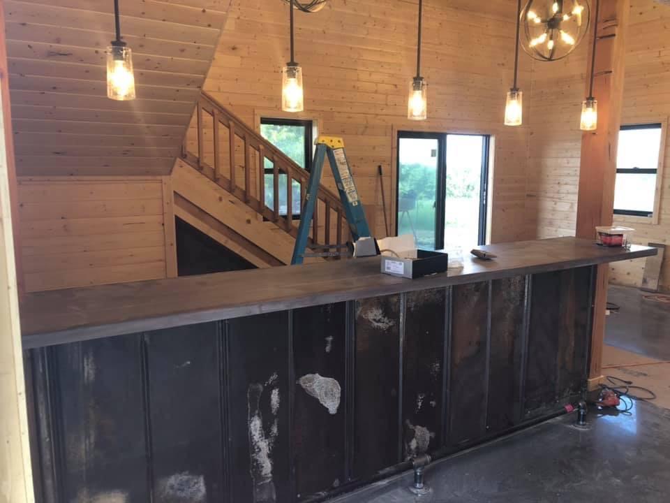 Bar in the Groom's Barn
