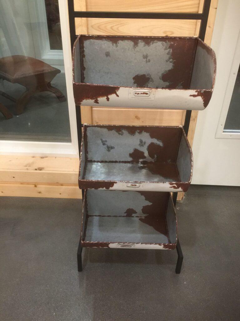 3 bin (white / rust color): $20