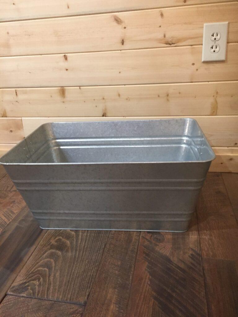 Large Wash Tub: $15
