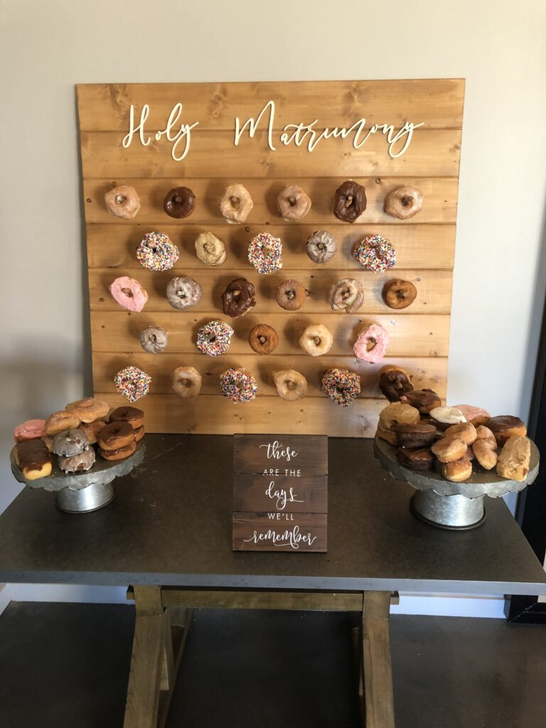 Small Donut Wall: $75