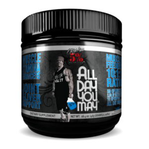 5% Nutrition All Day You May Blue Raspberry