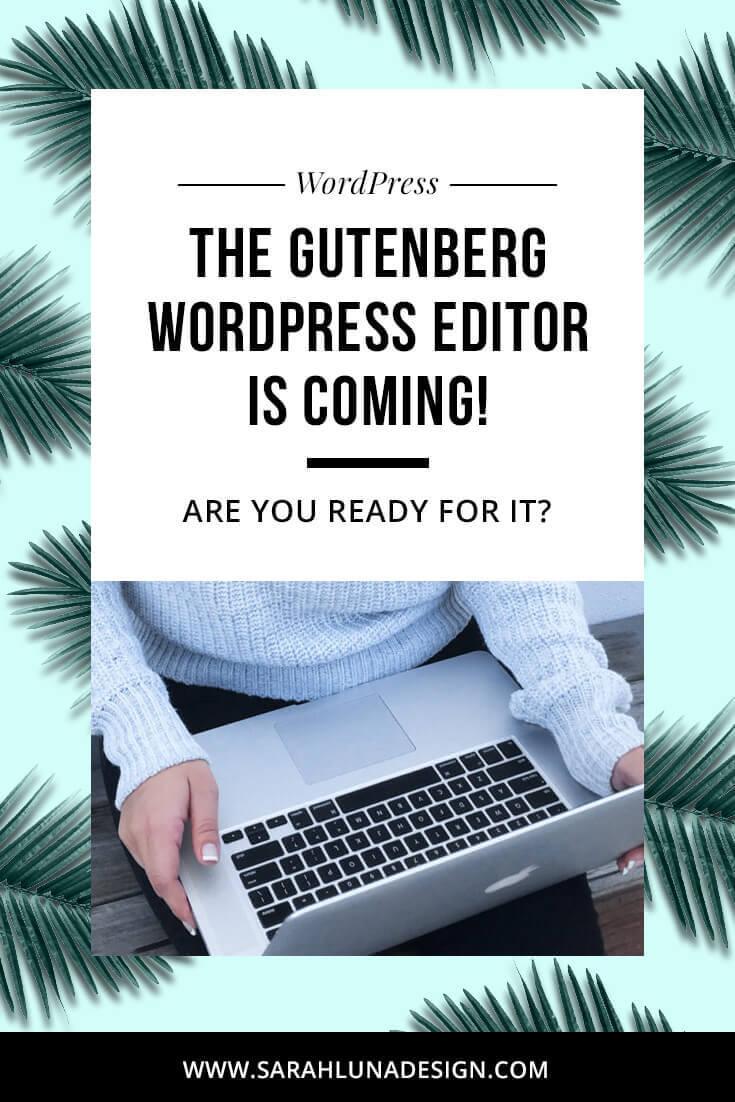 Gutenberg WordPress 5.0